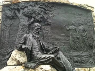 Sydney Lanier's Sculpture by Hans Schuler in Baltimore
