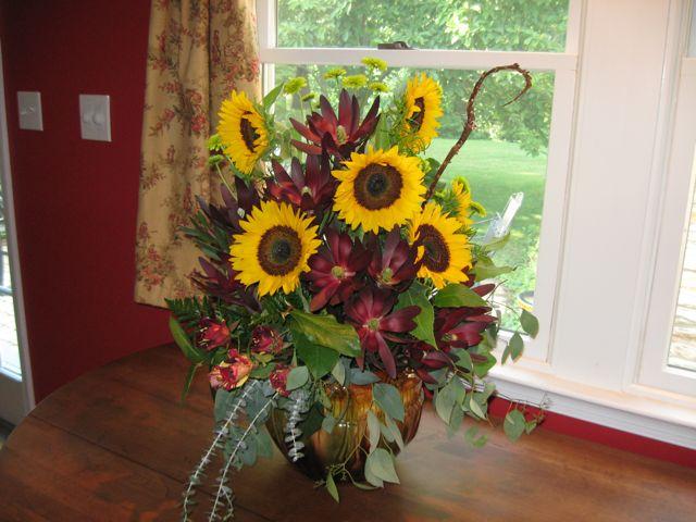 Sunflowers and Safari King