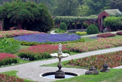 Frederick and Louise Vanderbilt Gardens, the Roosevelt-Vanderbilt Historic Sites, National Park Services, Hyde Park, New York